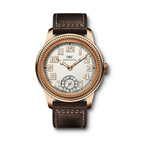 IWC IW3254-03 : Vintage Pilot's Watch Hand-Wound 1936 Rose Gold / Silver