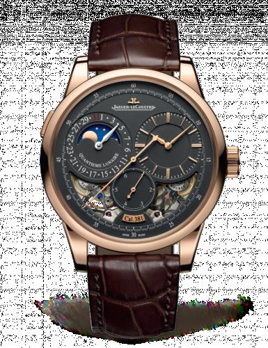 Jaeger-LeCoultre 604244J : Duomètre à Quantième Lunaire Pink Gold / Grey