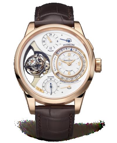 Jaeger-LeCoultre 6052420 : Duomètre Sphérotourbillon Pink Gold / Silver