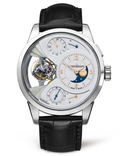 Jaeger-LeCoultre 6086420 : Duomètre Sphérotourbillon Moon Platinum / Silver