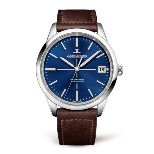 Jaeger-LeCoultre 8018480 : Geophysic True Second Stainless Steel / Blue