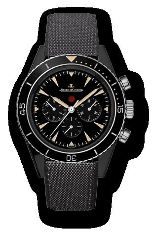 Jaeger-LeCoultre 208A57J : Deep Sea Chronograph Cermet / Titanium Boutique Edition