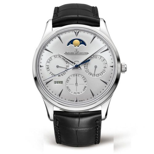 Jaeger-LeCoultre 130842J : Master Ultra Thin Perpetual Stainless Steel / Silver / Boutique Edition