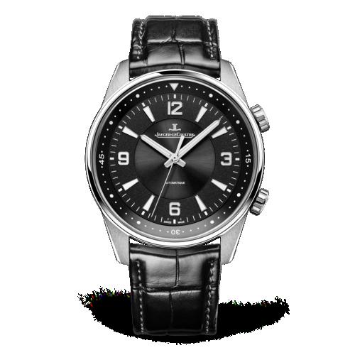 Jaeger-LeCoultre 9008470 : Polaris Automatic Stainless Steel / Black / Alligator