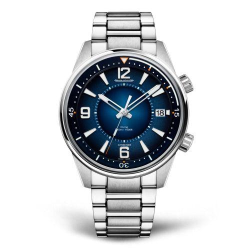 9068180 : Jaeger-LeCoultre Polaris Mariner Date Stainless Steel / Blue / Bracelet