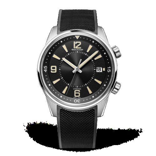 Jaeger-LeCoultre 9068670 : Polaris Automatic Stainless Steel / Vintage Black / Rubber