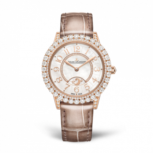 Jaeger-LeCoultre 3432570 : Rendez-Vous Night & Day Jewellery Pink Gold / MOP / Alligator