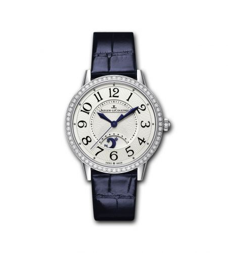 3448420 : Jaeger-LeCoultre Rendez-Vous Night & Day Stainless Steel / Silver / Blue Alligator