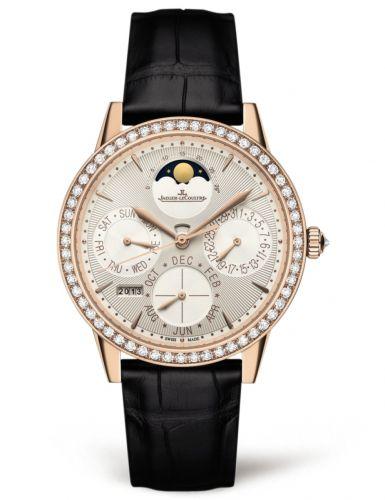 Jaeger-LeCoultre 3492420 : Rendez-Vous Perpetual Calendar Pink Gold / Silver / Alligator