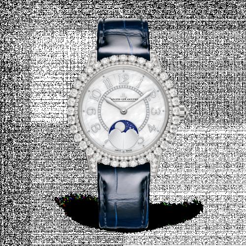 Jaeger-LeCoultre 3523570 : Rendez-Vous Moon Jewellery White Gold / MOP / Alligator