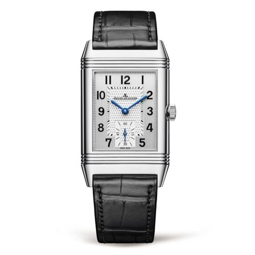 Jaeger-LeCoultre 2458420 : Reverso Classic Medium  Duoface Small Seconds Stainless Steel / Silver