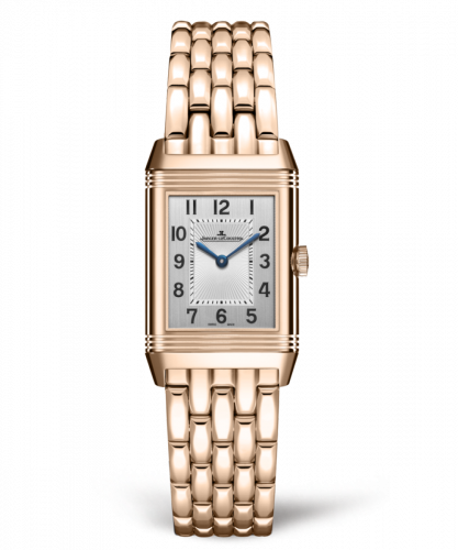 Jaeger-LeCoultre 2662130 : Reverso Classic Small Duetto Pink Gold / Silver / Bracelet