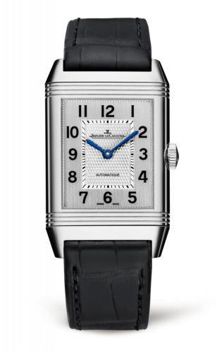 3828420 : Jaeger-LeCoultre Reverso Classic Large Stainless Steel / Silver / Alligator
