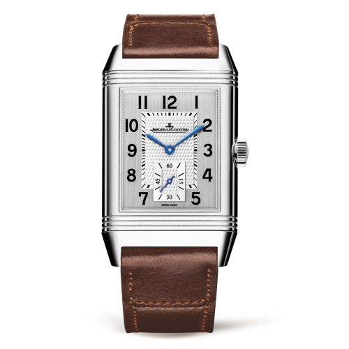 Jaeger-LeCoultre 3848422 : Reverso Classic Large Duoface Small Seconds Stainless Steel / Silver / Fagliano