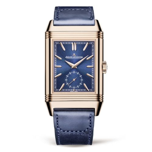 Jaeger-LeCoultre 398258J : Reverso Tribute Duoface Fagliano Pink Gold / Blue
