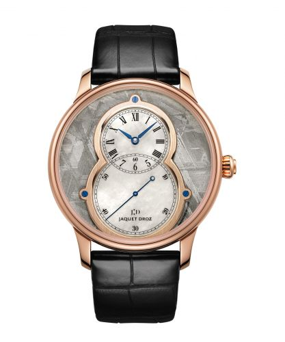 J003033339 : Jaquet Droz Grande Seconde 43 Meteorite / Red Gold
