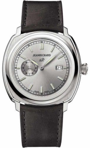 JeanRichard 60330-11-133-HB20 : 1681 Small Seconds Stainless Steel / Silver / Barenia