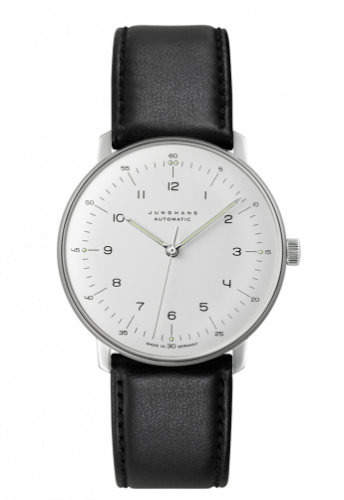 Junghans 027/3500.00 : Max Bill Automatic Silver No-Date