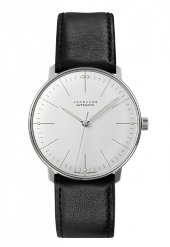 Junghans 027/3501.00 : Max Bill Automatic Silver Stick No-Date