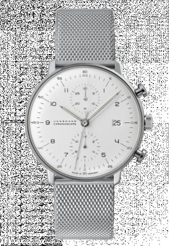 Junghans 027/4003.44 : Max Bill Chronoscope Silver Bracelet