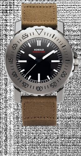 KD 1172142 : Kobold Soarway Diver Seal  Stainless Steel / Black