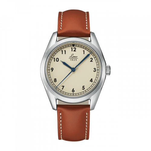 Laco 861614 : Navy Watch Navy / Stainless Steel / Creme