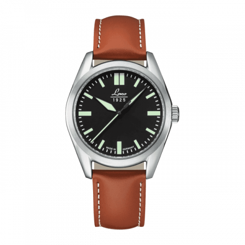 Laco 861615 : Navy Watch Navy Black  / Stainless Steel / Black