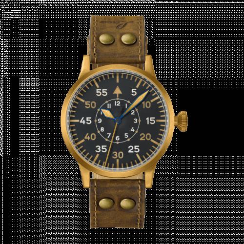Laco 862086 : Pilot Watch Original Friedrichshafen Bronze / Black