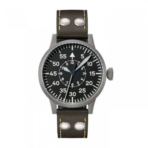 Laco 862093 : Pilot Watch Original Kempten Stainless Steel / Black