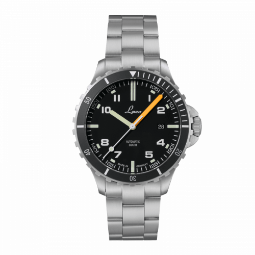 Laco 862106.MB : Squad Watch Himalaya MB / Stainless Steel / Black