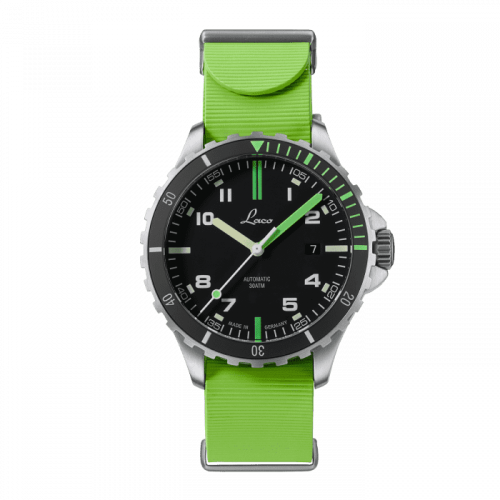 Laco 862107.RB : Squad Watch Amazonas .RB / Stainless steel / Black