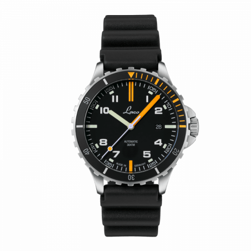 Laco 862109 : Squad Watch Mojave / Stainless steel / Black