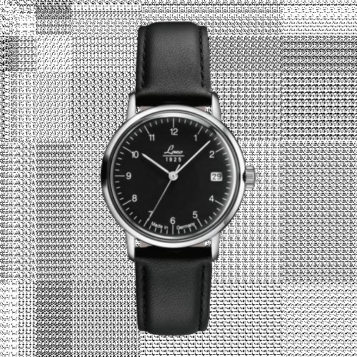 Laco 861842 : Vintage 34.0 / Stainless Steel / Black