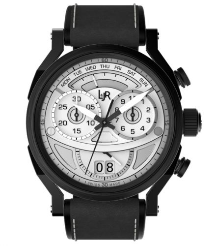 L & Jr S1501 : Step One Chronograph Stainless Steel / PVD / Silver