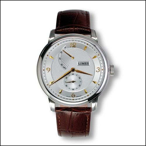 Limes U6282C-LHR1.2 : Pharo Hand wound - Two-tone / brown leather strap