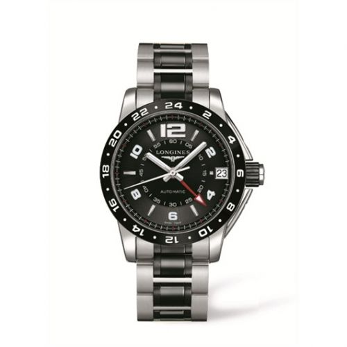 L3.669.4.56.7 : Longines Admiral GMT Ceramic