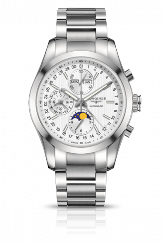 L2.798.4.72.6 : Longines Conquest Classic Moonphase