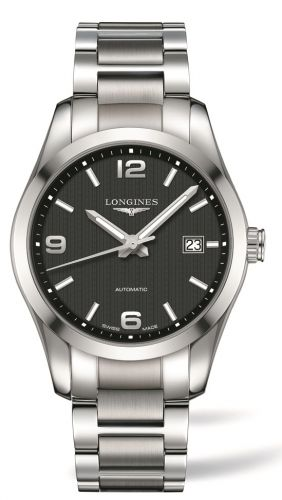 L2.785.4.56.6 : Longines Conquest Classic Automatic 40 Stainless Steel / Black