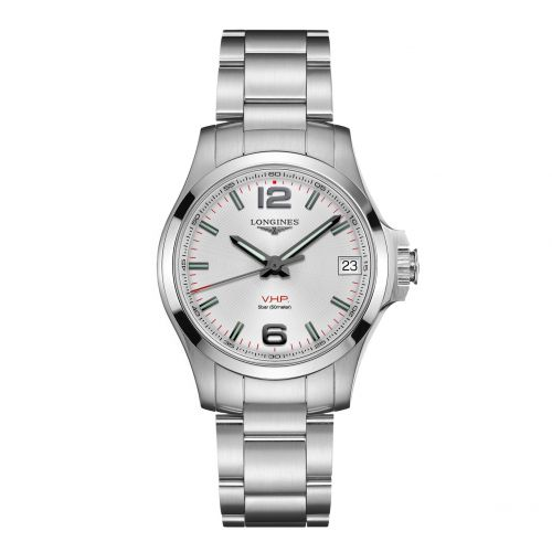 Longines L3.316.4.76.6 : Conquest V.H.P. 36 Stainless Steel / Silver / Bracelet