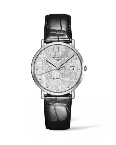 Longines L4.810.4.77.2 : Elegant Collection Automatic 37 Stainless Steel / Silver / Strap