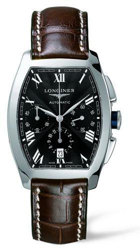 Longines L2.643.4.51.4 : Evidenza Chronograph Black