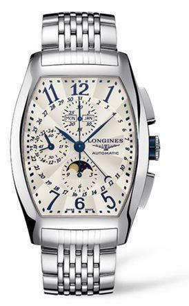 Longines L2.688.4.78.6 : Evidenza Chronograph Calendar Bracelet