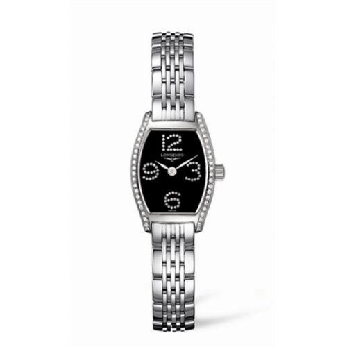 Longines L2.175.0.57.6 : Evidenza 19.6 Diamond Diamond Arabic Bracelet