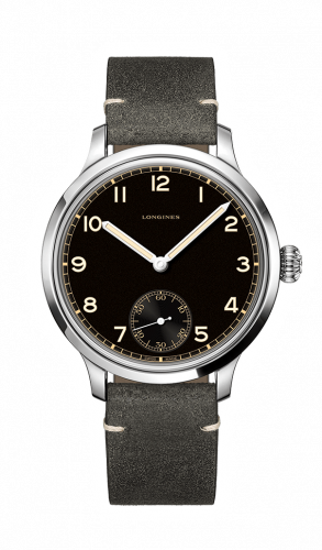 Longines L2.826.4.53.2 : Heritage Small Seconds 43mm