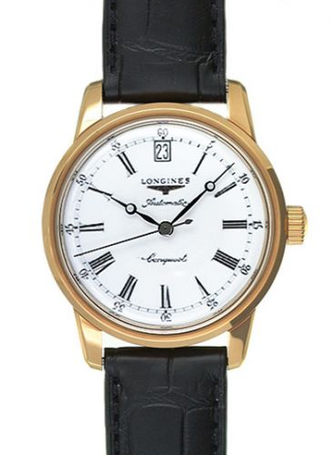 Longines L1.611.6.21.4 : Conquest Heritage Pink Gold Russia