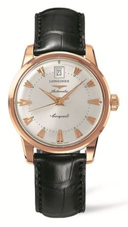Longines L1.611.8.78.4 : Conquest Heritage Pink Gold