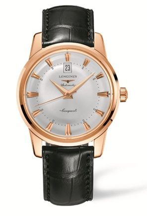 L1.645.8.75.4 : Longines Conquest Heritage 40mm Pink Gold