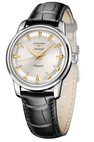 L1.611.4.70.4 : Longines Conquest Heritage 1954-2014 Stainless Steel