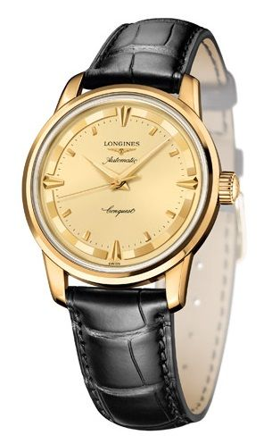 L1.611.63.04 : Longines Conquest Heritage 1954-2014 Yellow Gold