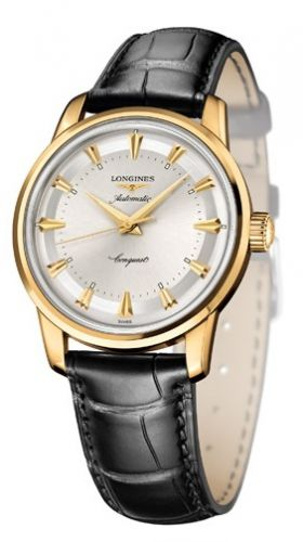 Longines L1.611.6.70.4 :  Conquest Heritage 1954-2014 Yellow Gold